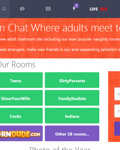 Meet in Chat - Free Modern Adult Chat